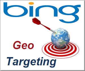 Установите геотаргетинг в Инструментах Bing для веб-мастеров