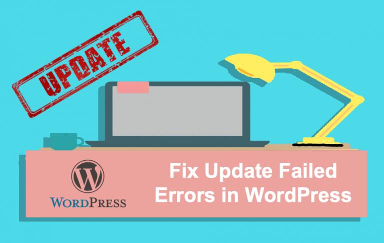 Как исправить ошибки обновления в WordPress?  »WebNots