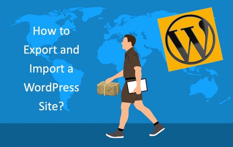 Как экспортировать и импортировать сайт WordPress?  »WebNots