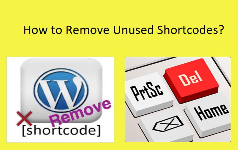 5 способов удалить неиспользуемые короткие коды с сайта WordPress »WebNots