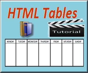 Создание HTML-таблиц с различными параметрами