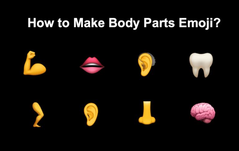 Как сделать символы эмодзи частей тела с помощью клавиатуры?  »WebNots