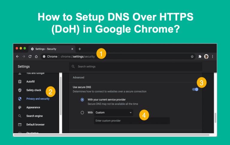 Как настроить DNS через HTTPS в Google Chrome?  »WebNots