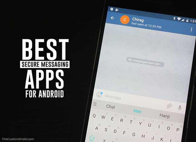 5 лучших приложений для безопасного обмена сообщениями для Android [September]