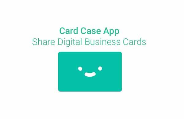 Приложение Card Case позволяет обмениваться карточками контактов с ближайшими устройствами