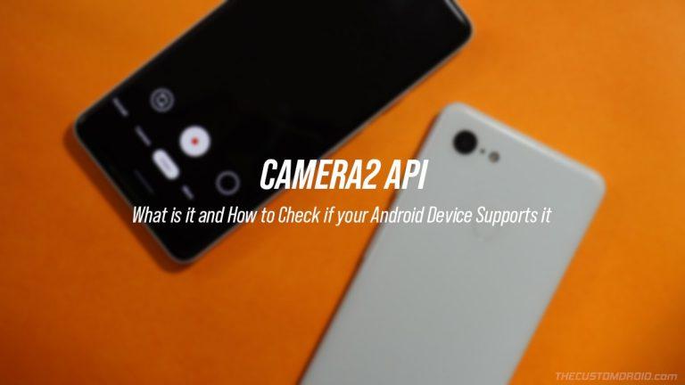 Как проверить поддержку Camera2 API на устройствах Android