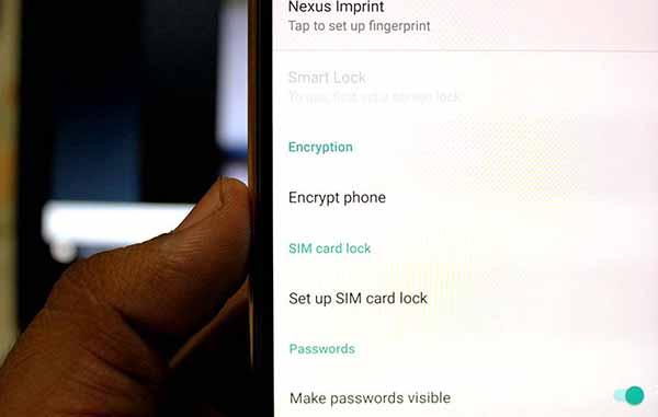 Отключить принудительное шифрование и расшифровать Nexus 5X
