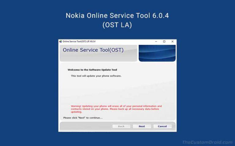 Скачать Nokia Online Service Tool (OST LA) 6.0.4 с патчем