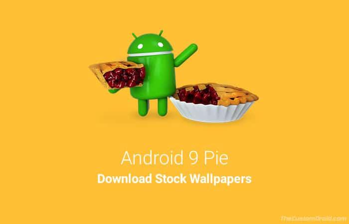 Скачать Android 9 Pie Stock Wallpapers (19 обоев)