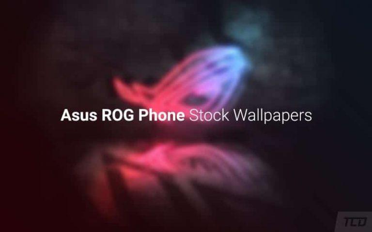 Скачать обои для телефона Asus ROG и живые обои