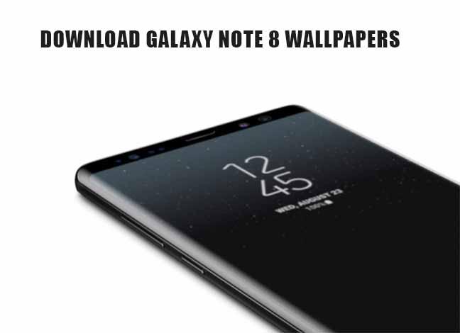 Скачать Galaxy Note 8 Wallpapers (13 обоев)