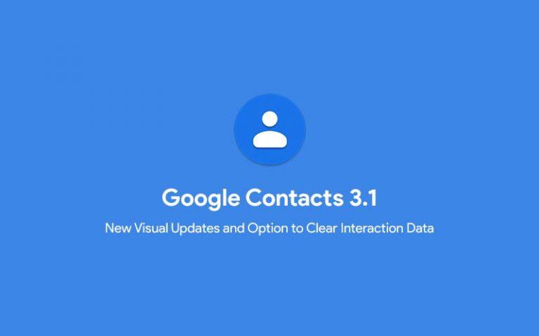 Загрузить Google Контакты 3.1 с визуальными обновлениями и др. (APK)
