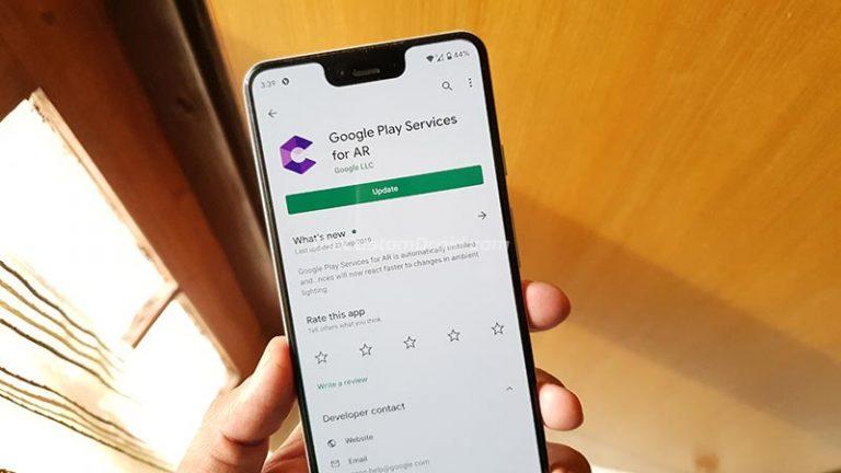Загрузить Сервисы Google Play для AR (ARCore) APK