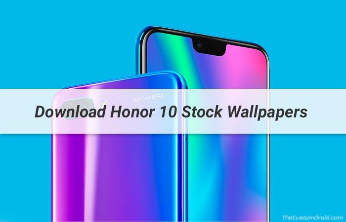 Скачать обои Honor 10 Stock [19 Wallpapers]