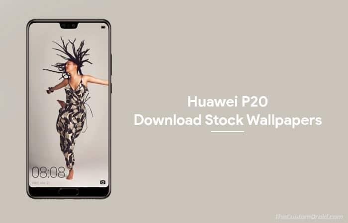 Скачать официальные обои Huawei P20 (12 обоев)
