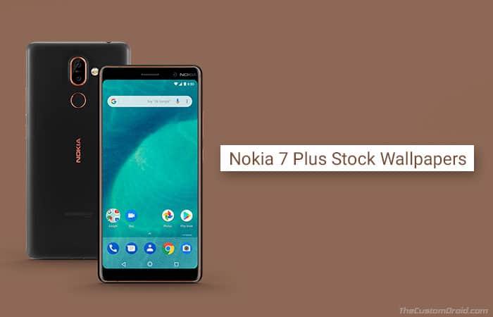 Скачать стоковые обои Nokia 7 Plus для Android (11 обоев)