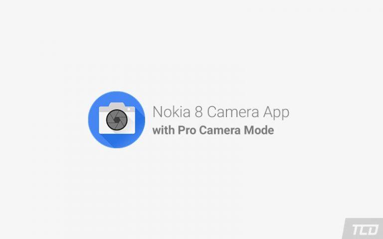 Загрузите приложение Nokia 8 Camera с профессиональным режимом камеры
