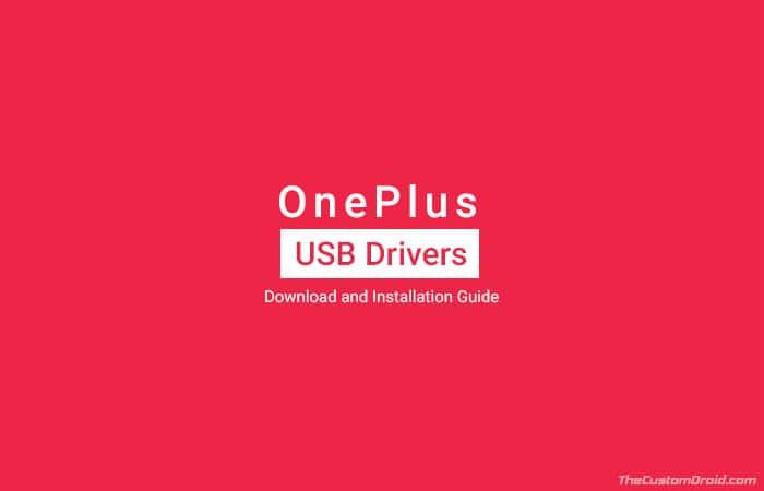 Загрузите USB-драйверы OnePlus для Windows и macOS (последние версии)