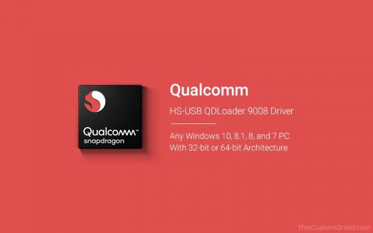 Скачать драйверы Qualcomm HS-USB QDLoader 9008 и как установить