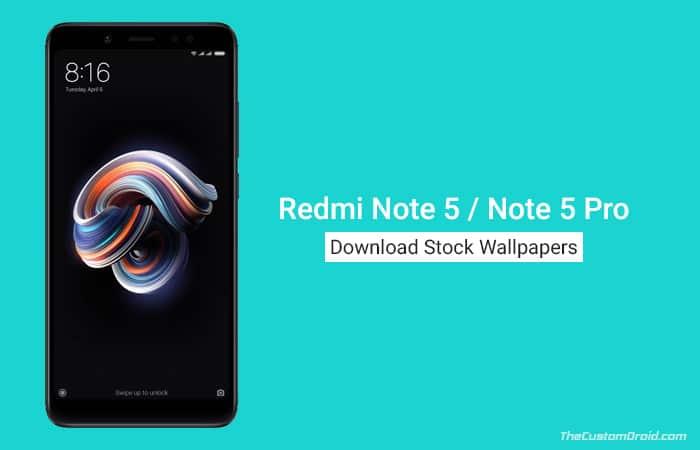 Скачать обои Redmi Note 5 Stock (33 обоев)