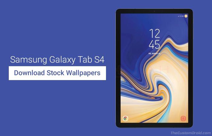 Скачать обои Samsung Galaxy Tab S4 Stock (10 обоев)