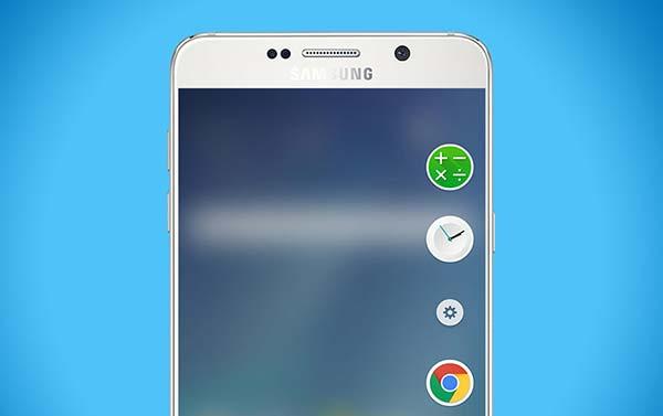Включить функции Edge на Galaxy Note 5
