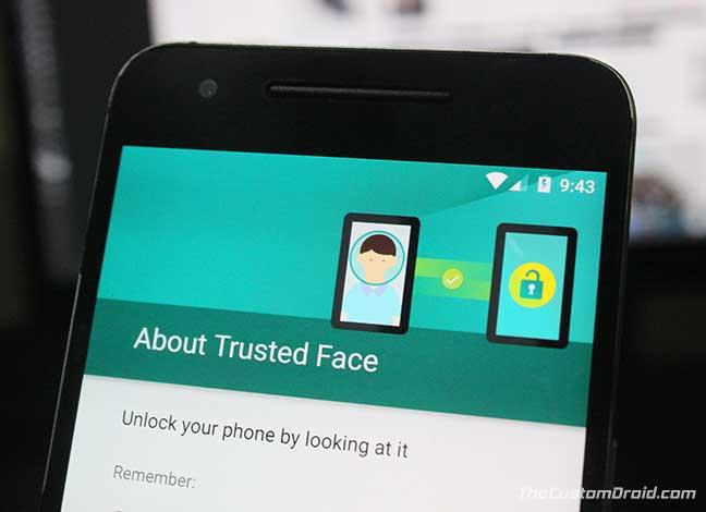Как включить функцию Face ID, подобную iPhone, на Android