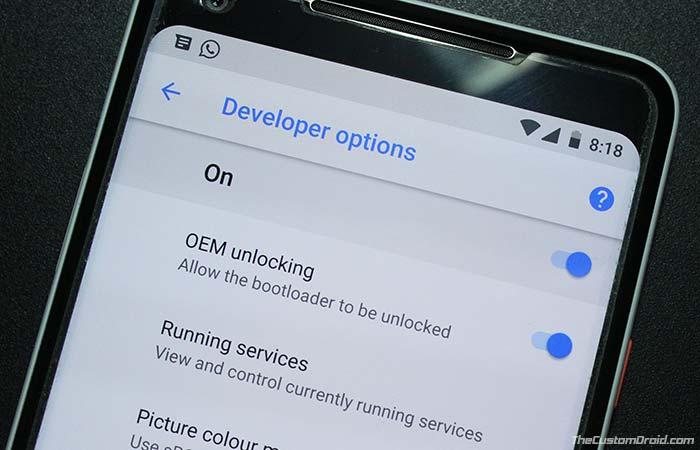 Как включить OEM-разблокировку на Android