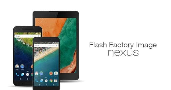 Как прошить заводской образ на устройствах Nexus