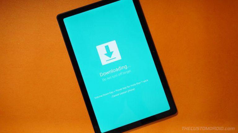 Войдите в режимы загрузки и восстановления на Galaxy Tab A7 10.4 (2020)