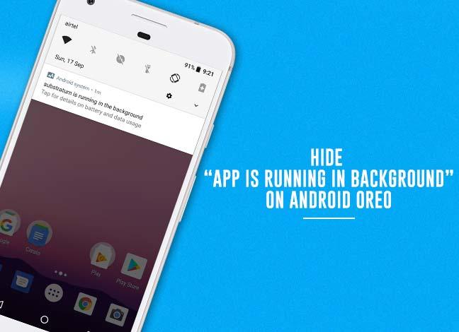 Как скрыть постоянные уведомления на Android Oreo
