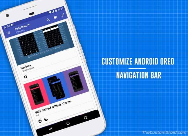 Как настроить Android Oreo NavBar без рута