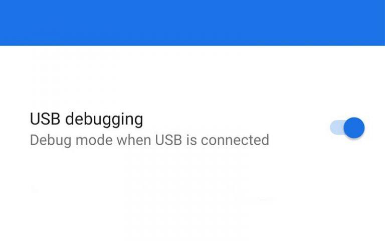 Как включить отладку по USB на Android?
