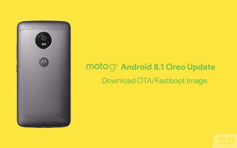 Как установить обновление Moto G5 Android 8.1 Oreo (OTA и образ Fastboot)