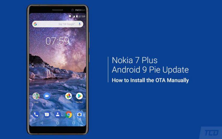 Как вручную установить Nokia 7 Plus Android Pie Update (OTA)