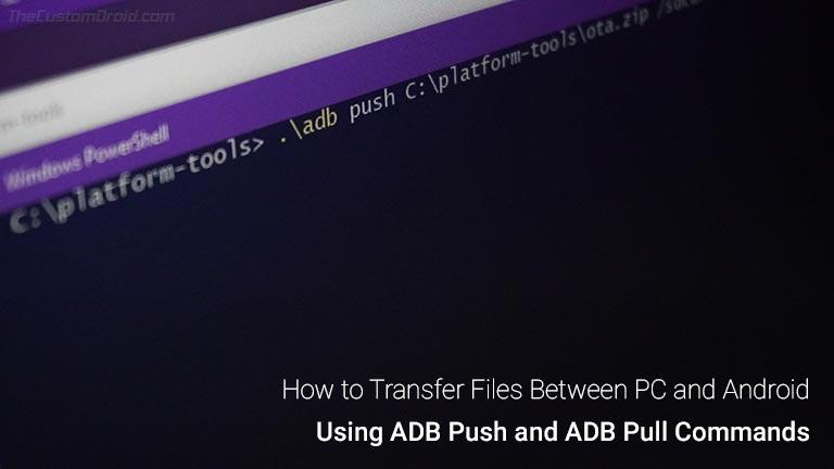 Как передавать файлы между ПК и Android