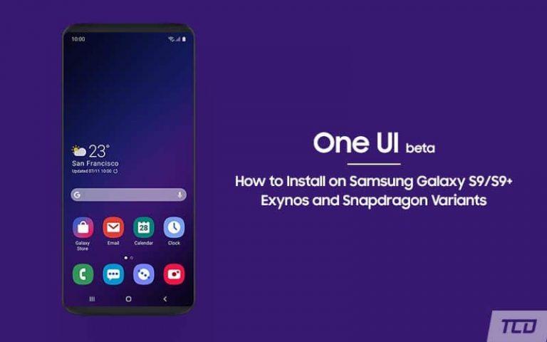 Установите бета-версию One UI на базе Android Pie на Samsung Galaxy S9 / S9 + (OTA)