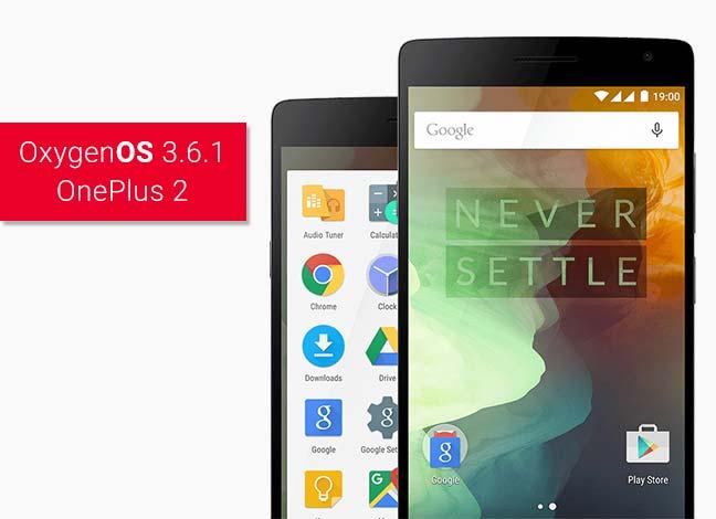 Как установить обновление OxygenOS 3.6.1 на OnePlus 2