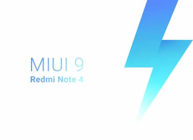 Как установить Redmi Note 4 MIUI 9 Stable ROM