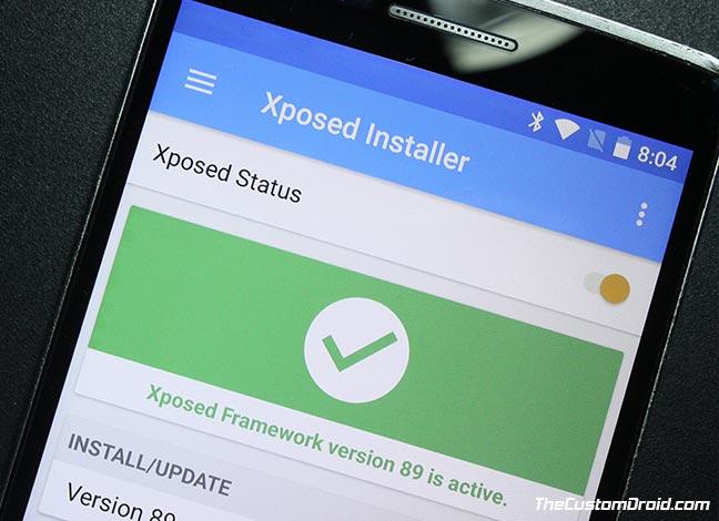 Как установить Xposed Framework v89 на устройства Android