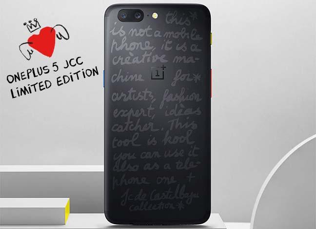 Скачать обои OnePlus 5 JCC Limited Edition