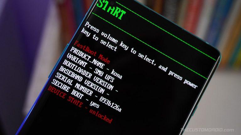 Войдите в режимы быстрой загрузки и восстановления на OnePlus 8T [3 Different Ways]