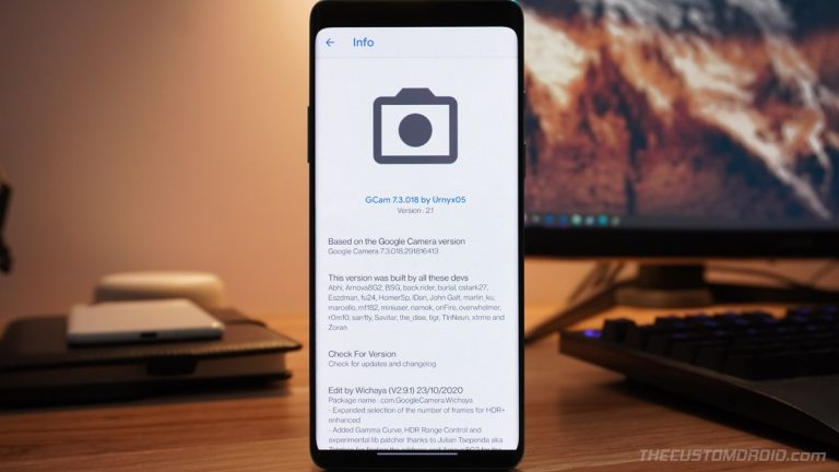 Google Камера для OnePlus Nord