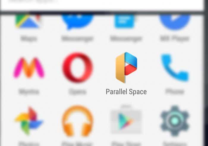 Parallel Space позволяет одновременно управлять несколькими учетными записями в социальных сетях