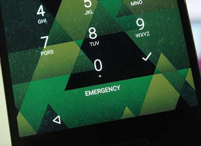 Удалить кнопку экстренного вызова с экрана блокировки (рут и без рута)