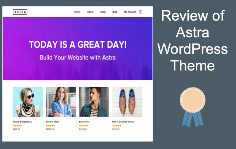 Обзор темы Astra WordPress
