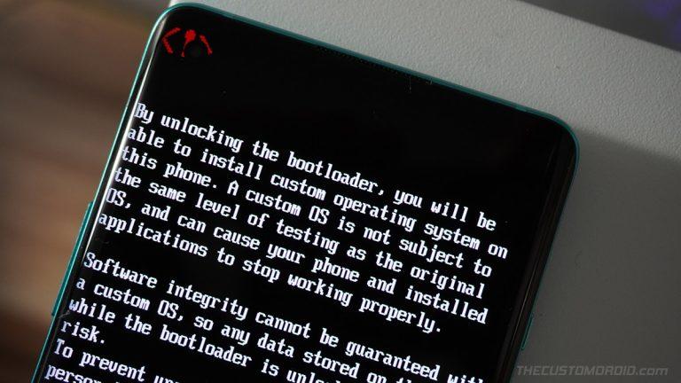 Как разблокировать загрузчик OnePlus Nord и повторно заблокировать его