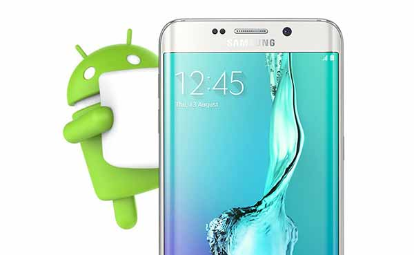 Вручную обновите Galaxy S6 Edge + до Marshmallow 6.0.1