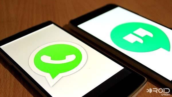 WhatsApp или Google Hangouts, что подходит лучше?