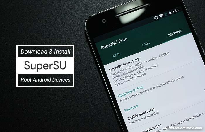Как рутировать Android с помощью SuperSU ZIP и TWRP Recovery